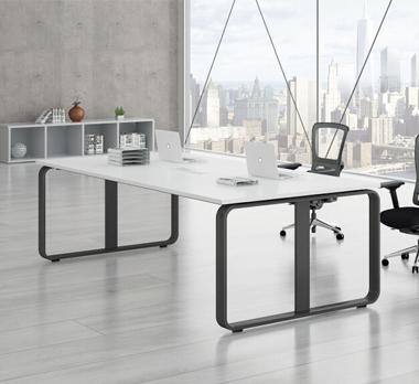 钢木结构会议桌GHY-08