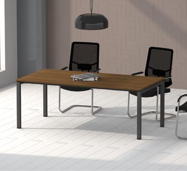 钢木结构会议桌GHY-03