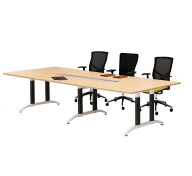 钢木结构会议桌GHY-04