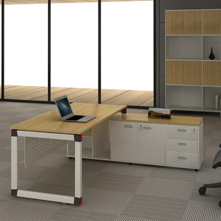 钢木结构办公桌GZ-01