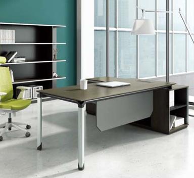 钢木结构办公桌GZ-09