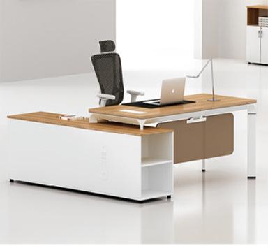 钢木结构办公桌GZ-10