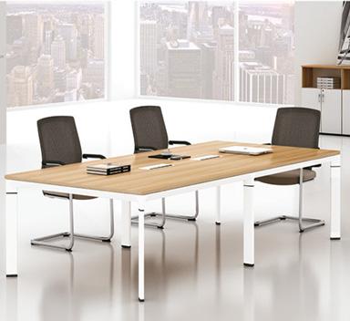 钢木结构会议桌GHY-06