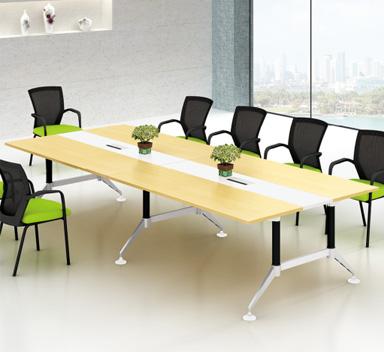 钢木结构会议桌GHY-02