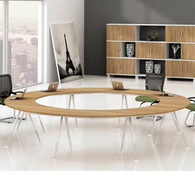 钢木结构会议桌GHY-10