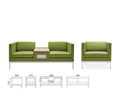 休闲沙发XSF-04