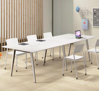 钢木结构会议桌GHY-01