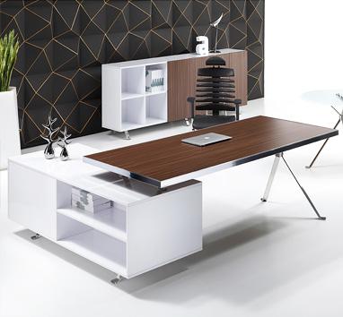 钢木结构办公桌GZ-05