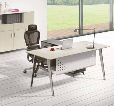钢木结构办公桌GZ-06