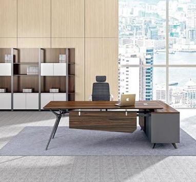 钢木结构办公桌GZ-07