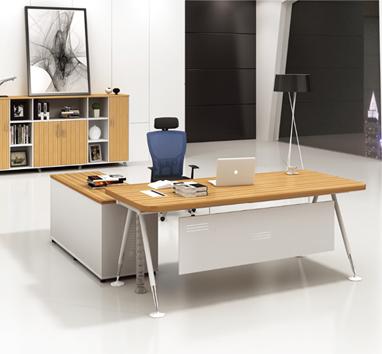 钢木结构办公桌GZ-02