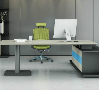 钢木结构办公桌GZ-08