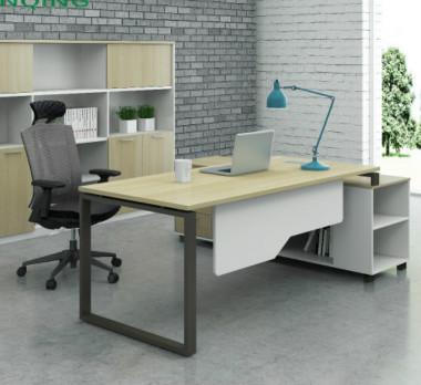 钢木结构办公桌GZ-04