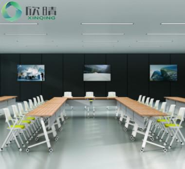 钢木结构会议桌GHY-11