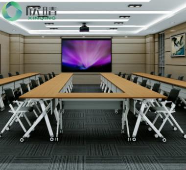 钢木结构会议桌GHY-12