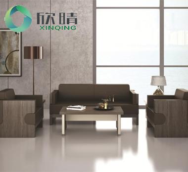实木办公沙发-05