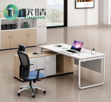 钢木结构办公桌GZ-15