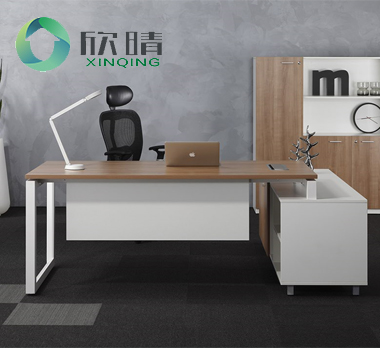 钢木结构办公桌GZ-13