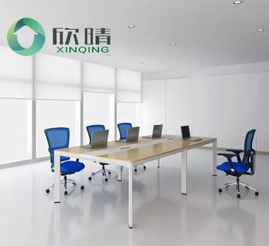钢木结构会议桌GHY-15