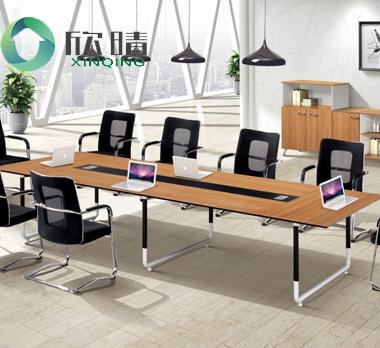 钢木结构会议桌GHY-16