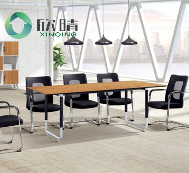 钢木结构会议桌GHY-17