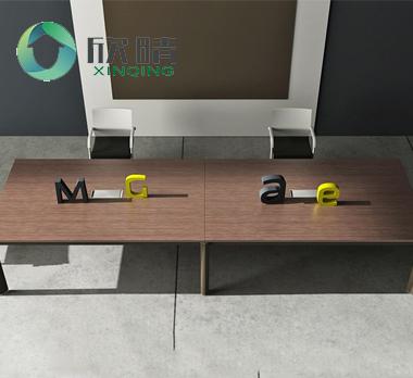 钢木结构会议桌GHY-20