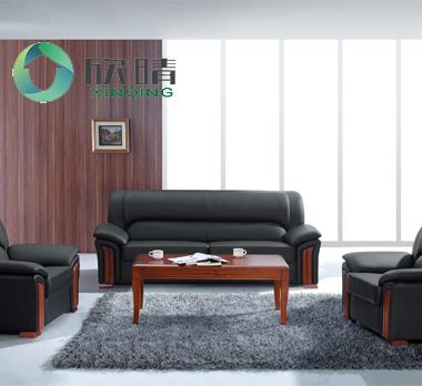 实木办公沙发-09