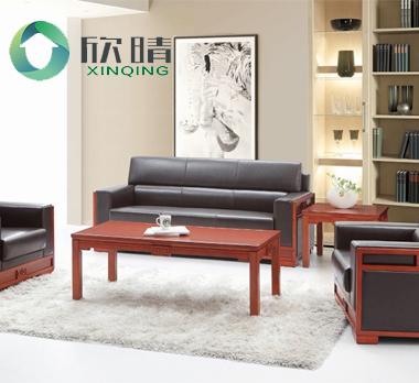 实木办公沙发-15