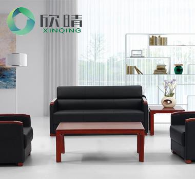 实木办公沙发-16