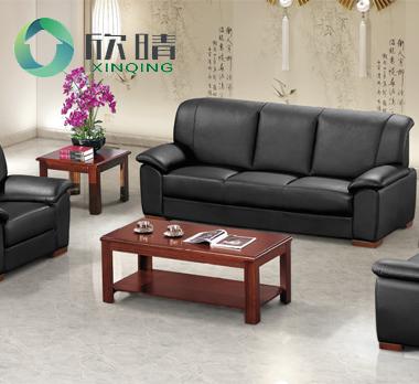 实木办公沙发-21