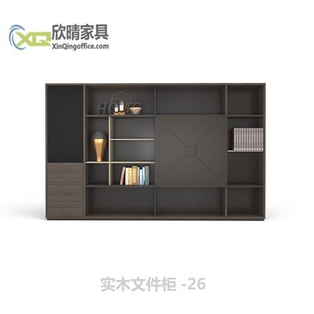 实木文件柜-26