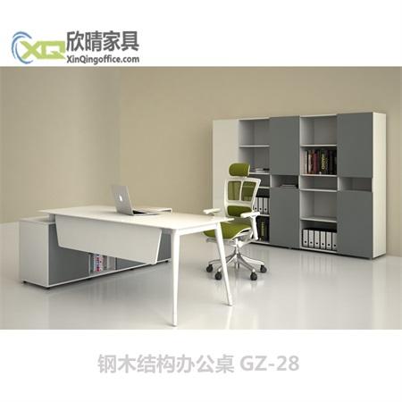 钢木结构办公桌GZ-28